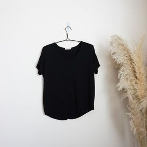 Rag & Bone/Jean black dolman sleeve t-shirt